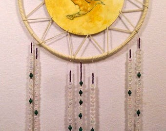 Golden Bird Dreamcatcher