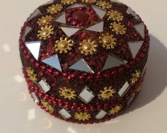 Mandala Art tin