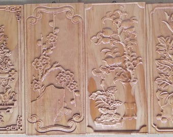 Wood carving, 3d picture, art relief, wall panel, decoration, wood wall art, Birthdy gift, decor, custom wood carving