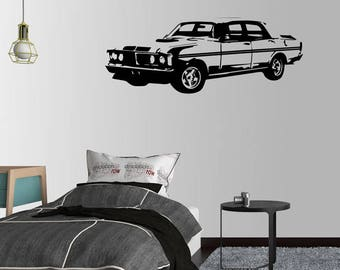 Ford Falcon XY GT-HO Phase 3 351 V8 Shaker Wall Decal Sticker