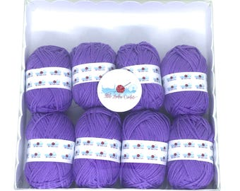 Purple Yarn Pack