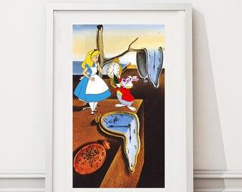 Alice in Wonderland/Salvador Dalí