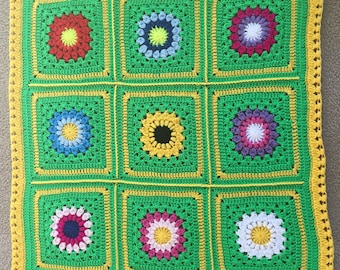 Baby Blanket- HANDMADE - Crochet