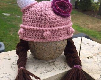 Girl Viking Helmet