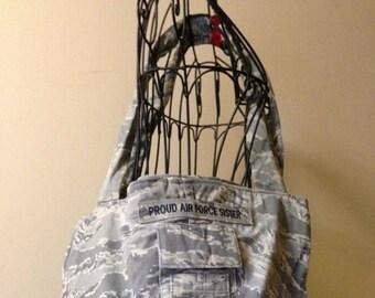 Air Force ABU Camouflage Tote Bag Purse