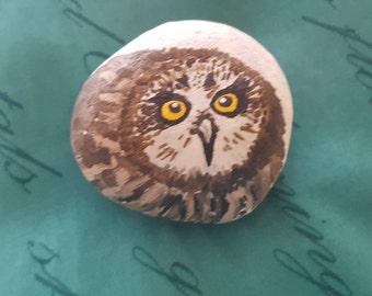 Short Eared Owl Stone