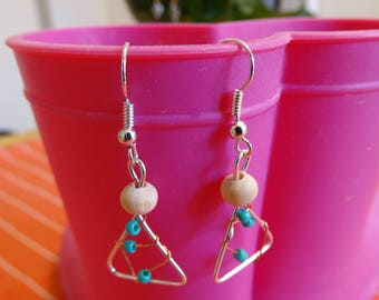 Triangle beads