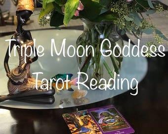 Triple Moon Goddess Tarot Reading - Apokalypsis Tarot - Five Dollar Divination