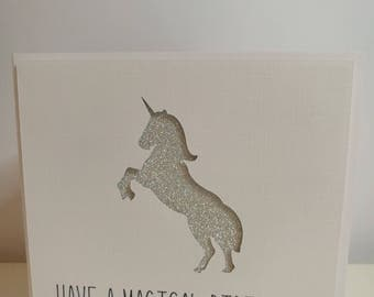 Have a magical Birthday Unicorn Card