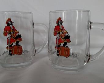 Vintage Captain Morgan coffee mugs