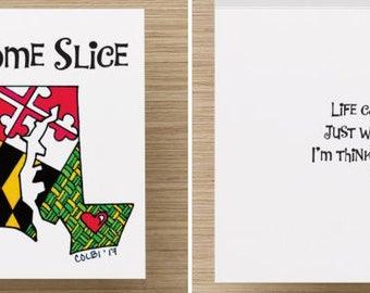 "Note cards Maryland ""Thinking of you"" set (4)"