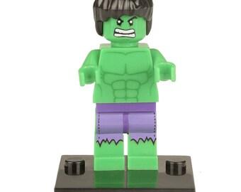 HULK Marvel Super Hero Mini Figure fits LEGO