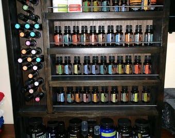 Diamond Sized Essential Oil Shelf