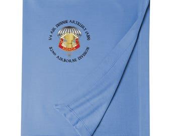 3/4 Air Defense Artillery (Airborne) Embroidered Blanket-3460