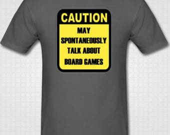Caution board game T-shirt