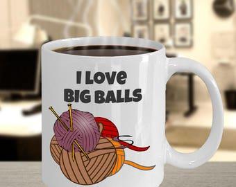 Knitting coffee mug- funny knitting mug, knitting gift with knitter gift, knitting, and mug, mug for knitters, yarn mug, gift for knitters!