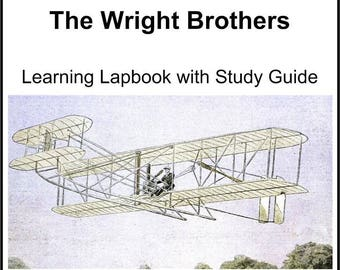 The Wright Brothers Lapbook Templates with Study Guide