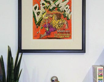 Framed comic - Batman #194