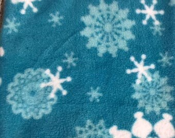 Snowflake snood for Great Dane/Giant breed dog