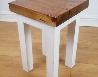 Rustic Style Side Table