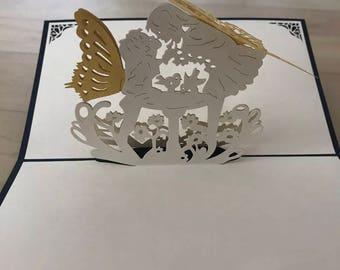 Pop Up 3d map Angel Kiss