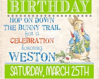 Somebunny's Birthday Invitation 5x7