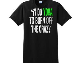 YOGA TOPS, Personalized T-Shirt, Yoga Shirt, Custom T-Shirt, Funny T-Shirt, Yoga Clothing, Yoga Clothes, Yoga Wear, For Her, Yoga Lovers