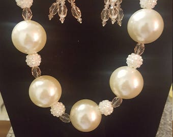 Large Faux Pearl