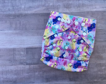 My Little Pony Pocket Cloth Diaper Set