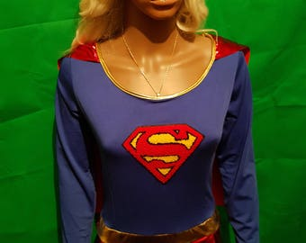 Supergirl cosplay costume New