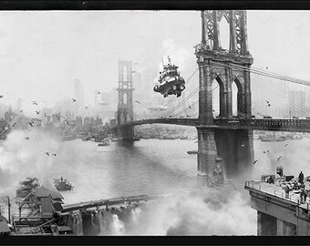 """Steampunk 'Future Past' Art Print Series 