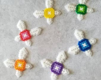 Legend of Zelda Fairy Perler Set/Singles, Magnets, Pins