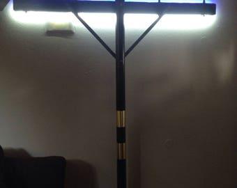 Antique telegraph pole lamp