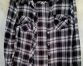 Vintage Coat, Flannel Shirt, Oversized Flannel, Vintage Flannel, Vintage Flannels Women, Gift For Women, Gift For Men, Vintage Clothing