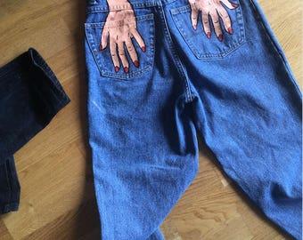 Hands Off Mum Jeans