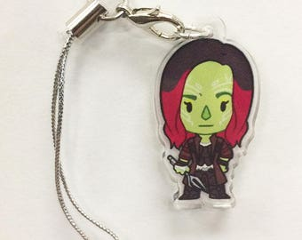 Guardians of the Galaxy - Gamora Acrylic Charm