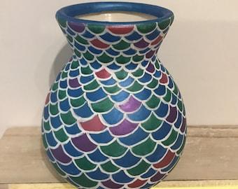 Ceramic Mermaid Pot