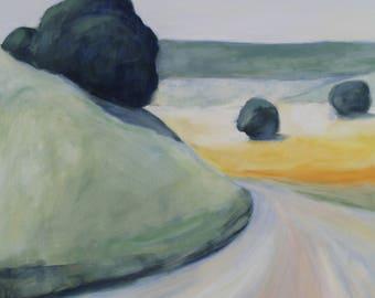 California Landscape Painting original oil painting 20x24 inches landscape painting CA landscape