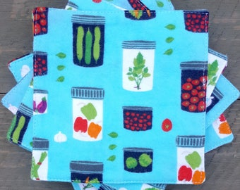 Everyday Napkins - Jars of Veggies/Pickles