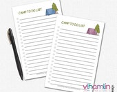 To Do List Notepads - Cam...