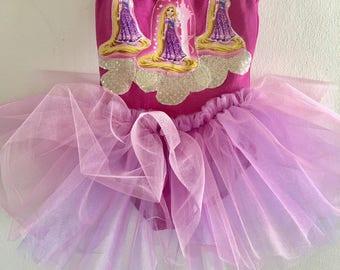 Rapunzel Tutu - Rapunzel Dress - Rapunzel Costume - Rapunzel Birthday - Rapunzel Party