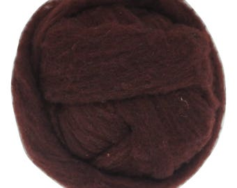 Polypay Wool Roving -- Hickory 17 -- 4 oz.