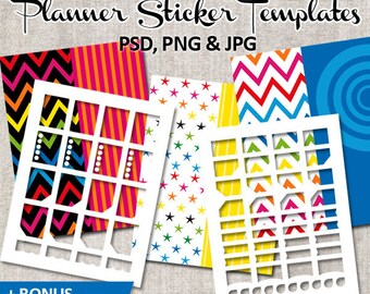 DIY Kit Planner Sticker Life Planner Template, commercial use / Erin condren planner sticker, plan sticker, printable, templates download