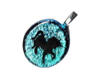 Unicorn Jewelry, Unicorn Necklace, Unicorn Pendant, Unicorn Charm, Fantasy Necklace, Animal Necklace, Unicorn Jewellery, Unicorn Gift, Blue