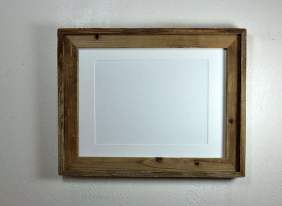 12x16 Picture Frame Reclaimed Wood Barnwood Style 9x12