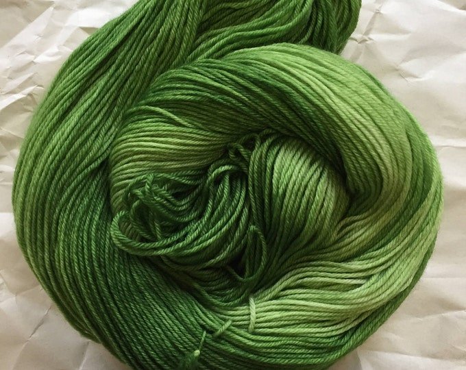 sock dream - a green for Serafine