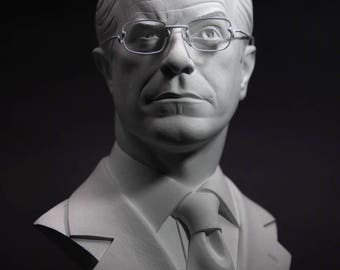 Stephen Colbert bust - 1/2 scale