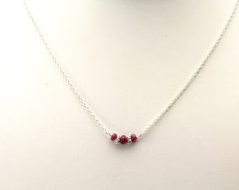 Ruby Necklace. Listing 528568688