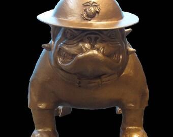 Sargeant Dawg ... USMC Military Style English Bulldog Mascot