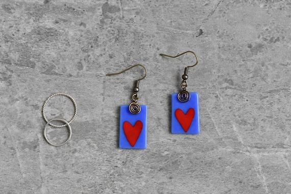 Red Heart Whimsical Love ...